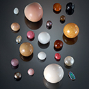 A rare selection of natural pearls from the Qatar Museums Authority Collection