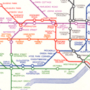 London Underground map, Henry Beck