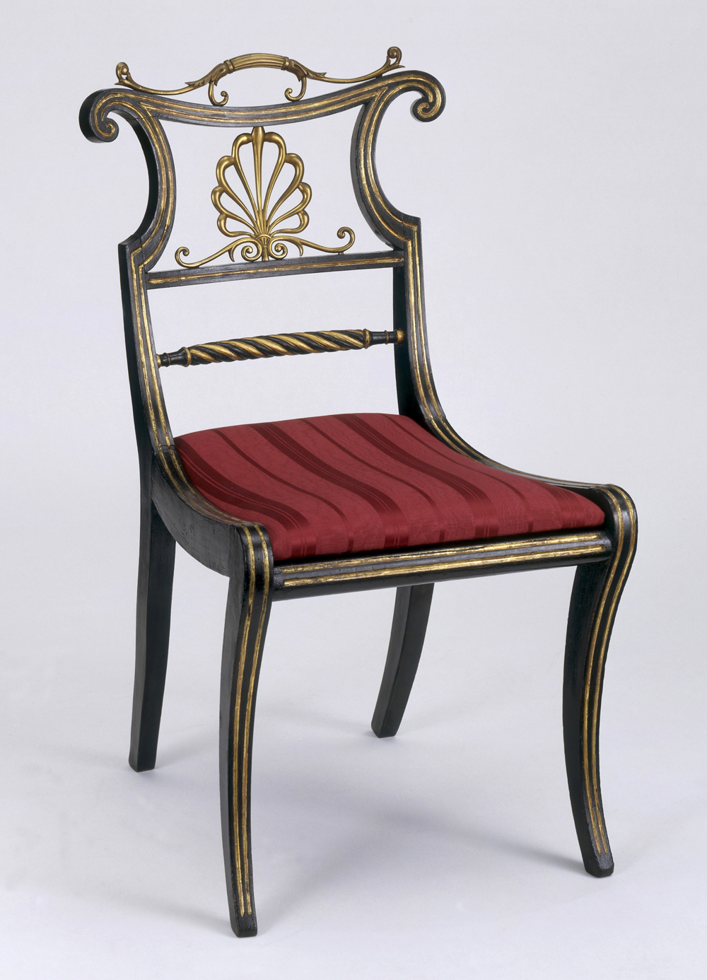 Georgian furniture characteristics - Trafalgar Chair