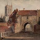 'Potter Gate, Lincoln', Peter de Wint