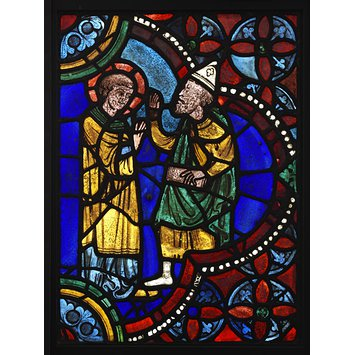 Panel - Saint Stephen before the High Priest