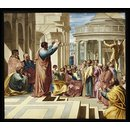 Saint Paul Preaching at Athens (Panel)