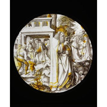 Roundel - Scenes from the Life of Abraham