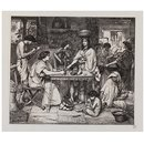 Joseph distributes corn (Print)
