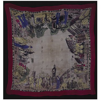 Scarf - The American Forces in London