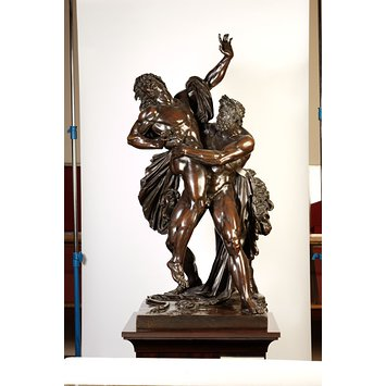 Figure group - Hercules and Antaeus