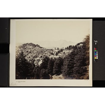 Photograph - Simla, from Jakko; Simla