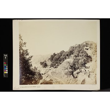 Photograph - Elysium Hill, from Luckree Bazaar, Simla.; Simla