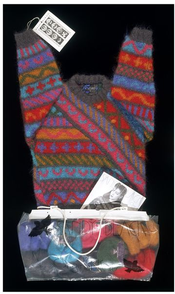Jumper Knitting Kits Uk : Knitting kit black sandy v a search the collections