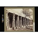 Colonnade of Hindoo Pillars at the Kutub, East side, Delhi (Photograph)