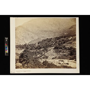 Photograph - The village of Sungla, on the Buspa