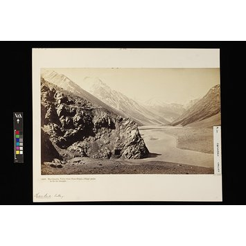 Photograph - The Chandra valley from Choto Shigri - Shigri Peaks in the Far Distance.