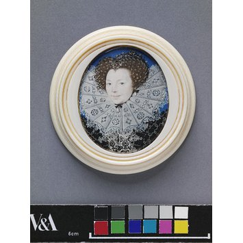 Miniature - Portrait of an unknown woman