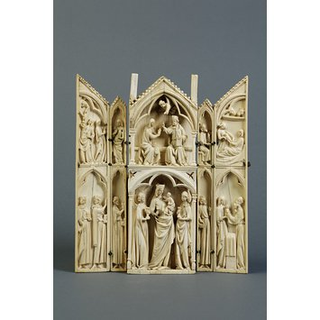 Polyptych - The Virgin and Child