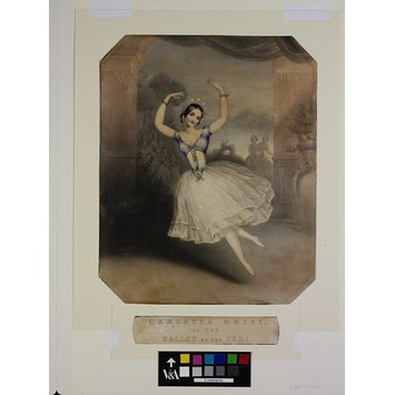 Print - Carlotta Grisi, / in the / Ballet of the Peri.