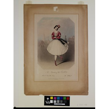 Print - The Favourites of the Ballet. / 10 / Madlle Carlotta Grisi  The Polka.