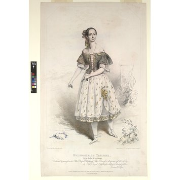 Print - MADEMOISELLE TAGLIONI, / (In the Ballet of La Gitana)