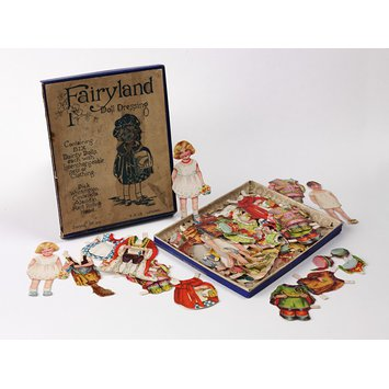 Cut out doll - Fairyland Doll Dressing