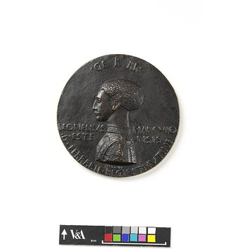 Medal - Leonello d'Este