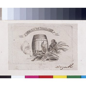 Print - Ignatius Sancho's trade card