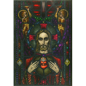 Panel - Apparition of the Sacred Heart