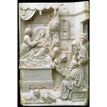 Relief - Death of the Virgin