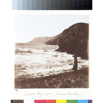 Photograph - Caswell Bay - 1853 - Waves Breaking