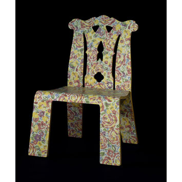 Chair - Chippendale Chair with Grandmother pattern
