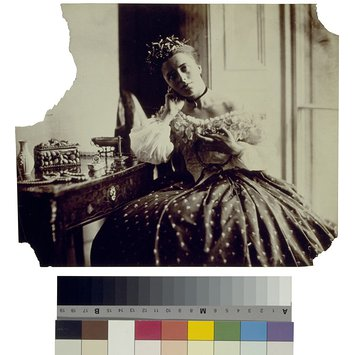 Photograph - Isabella Grace Maude, 5 Princes Gardfens; Photographic Study