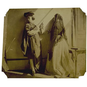 Photograph - Clementina and Isabella Grace Maude, 5 Princes Gardens; Photographic Study