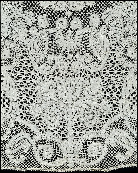 Collar made of bobbin lace - mid 17th century