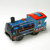 Mechanical toy train