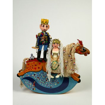 Artist's toy - The Royal Wedding Charger