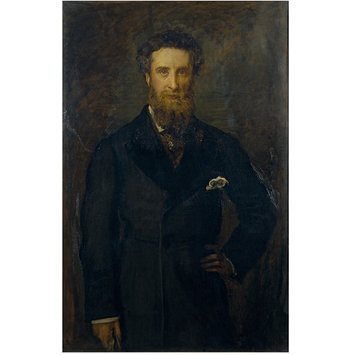Oil painting - Edward Robert Bulwer Lytton, First Earl Lytton; Lord Lytton, Viceroy of India