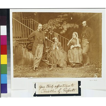 Photograph - The Rossetti family