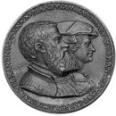 Casimir Margrave of Brandenburg and Susanna his wife (Medal)