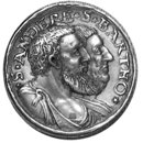 Saints Philip, James, Andrew and Bartholomew (Medal)