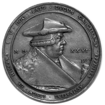 Medal - Augustin Loesch, Chancellor of the Duchy of Bavaria