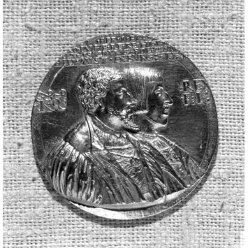 Medal - Charles V, his brother Ferdinand I, and sister Maria