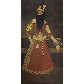 Oil painting - Portrait of Fath 'Ali Shah