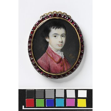 Portrait miniature - Portrait of Harry Earle, Jr, aged 15