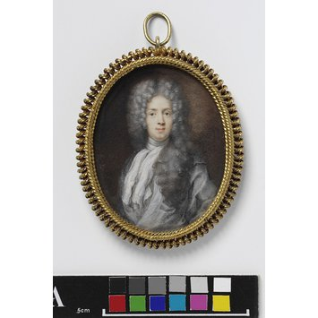 Portrait miniature - Portrait of Robert Benson (1676-1731), Baron Bingley