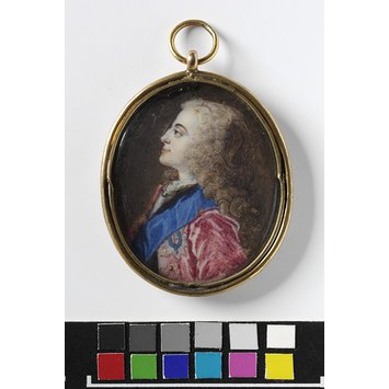Portrait miniature - King George II