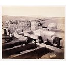 Gizeh: Excavated temple at the foot of the Sphinx (Photograph)