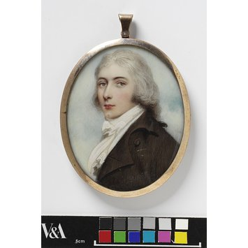 Portrait miniature - James Daniell