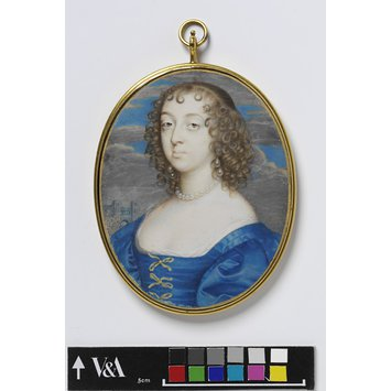Portrait miniature - Catherine Howard, Lady d'Aubigny, and later Lady Newburgh