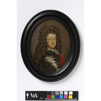 Portrait miniature - King William III