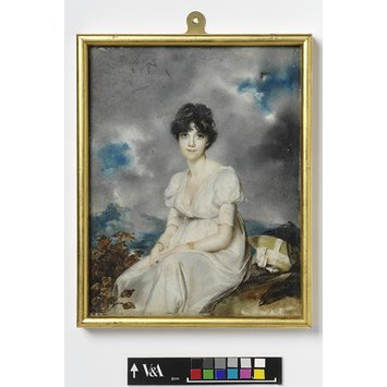 Portrait miniature - Mrs Robert Sherson