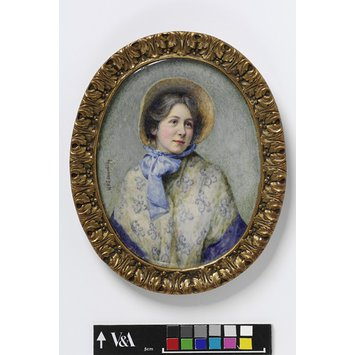 Portrait miniature - Portrait of Eileen Marshall