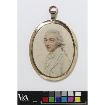 Portrait miniature - Portrait of Mr Tomkinson